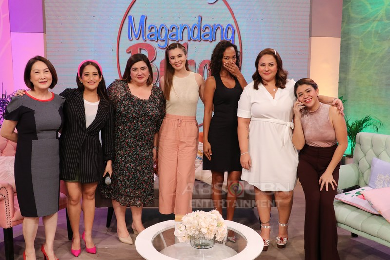 PHOTOS: Magandang Buhay with Sunshine Cruz, Nadia Montenegro & Wilma Doesnt
