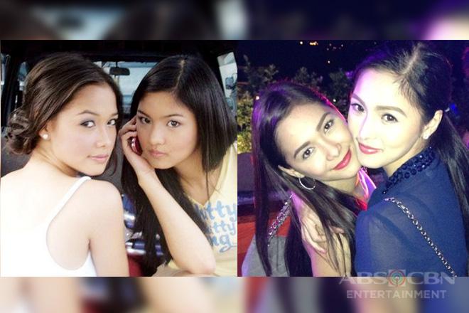 """""""Still the same us"""": Mga litrato ng pagkakaibigan nina Maja at Kim na pinagtibay ng panahon"""