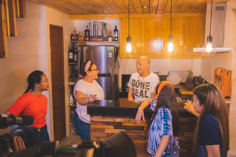 DREAMS DO COME TRUE: Wacky Kiray proudly shows his fruit of labor