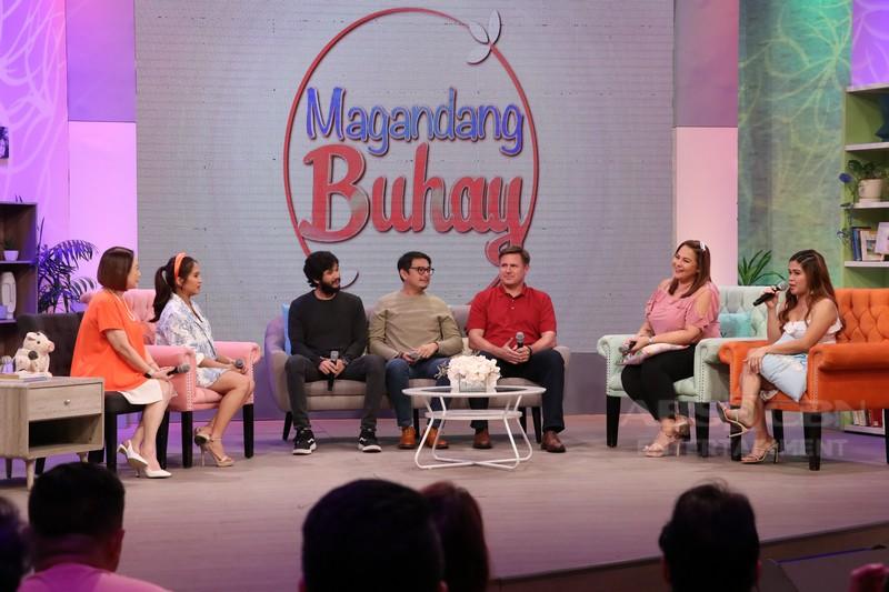 PHOTOS: Magandang Buhay with Dominic Ochoa, Lee O'Brian and Matt Evans