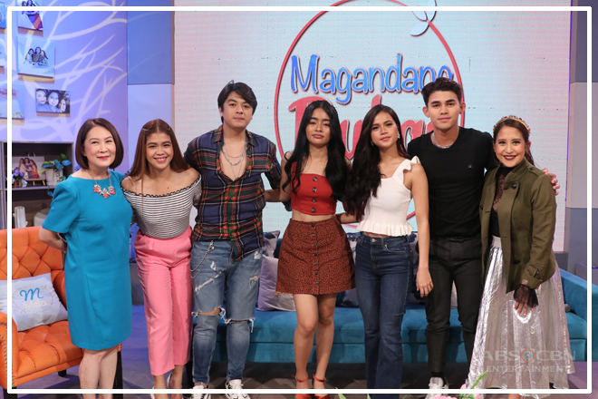 PHOTOS: Magandang Buhay with KierVi and MarNigo