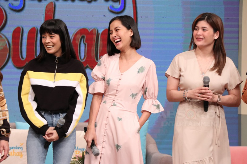 PHOTOS: Magandang Buhay with Bianca Gonzalez, Kat Galang and Roxanne Guinoo