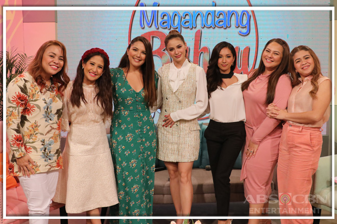PHOTOS: Magandang Buhay with Arci Muñoz, Roxanne Barcelo and Ria Atayde