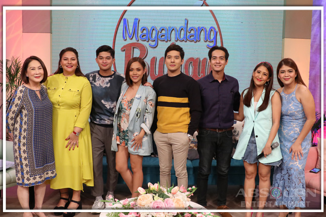 PHOTOS: Magandang Buhay with Kim Molina and Christian Bables