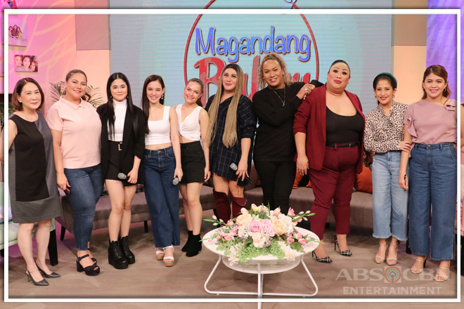 PHOTOS: Magandang Buhay with Stephen, Jackie, Negi and Petite