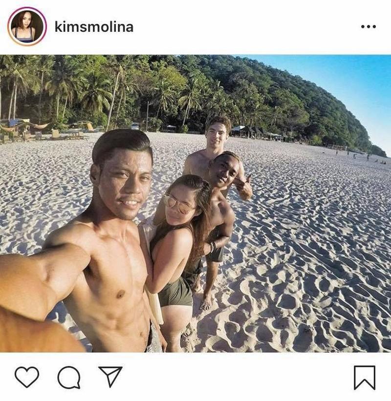 ANG TAMIS! Mga litrato ni Kim Molina kasama ang kanyang boyfriend