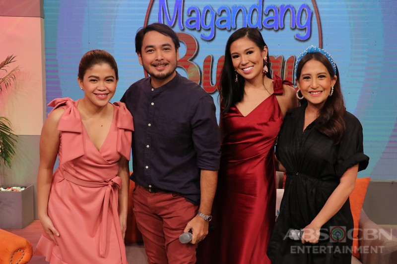 PHOTOS: Magandang Buhay with Cris Villanueva and Eric Fructuoso