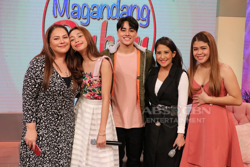 PHOTOS: Magandang Buhay with MayWard and Ariella Arida