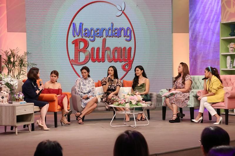 PHOTOS: Magandang Buhay with Ritz Azul, Kylie Verzosa Maxine Medina