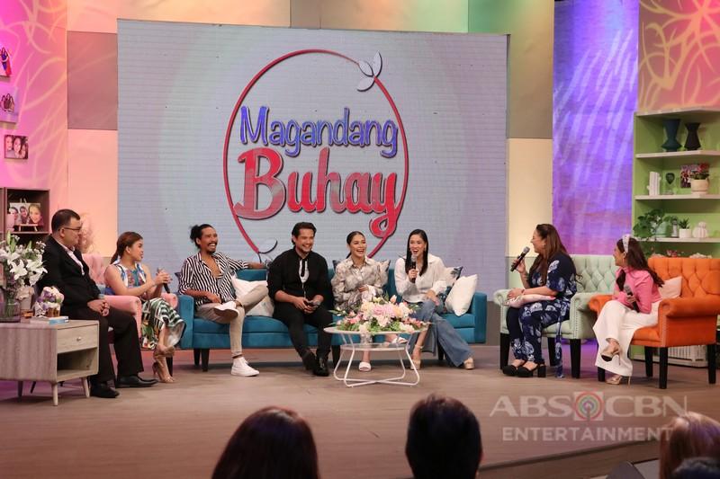 PHOTOS: Magandang Buhay with Maja Salvador, Geoff Eigenmann, Pamu Pamorada, Pepe Herrera and Hanna Ledesma