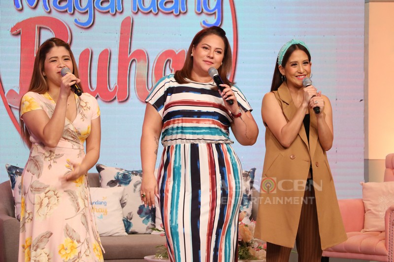PHOTOS: Magandang Buhay with Jona, Darren, Karina, Aljon, Lucas, Matty and Enzo