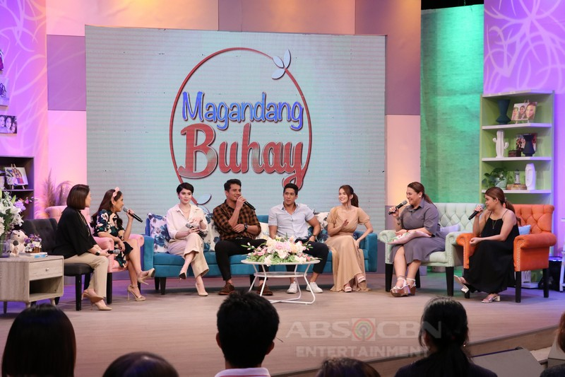 PHOTOS: Magandang Buhay with Aljur Abrenica, Ejay Falcon, Elisse Joson and Jessy Mendiola