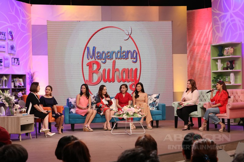 PHOTOS: Magandang Buhay with Cristine Reyes, Ciara Sotto, LJ Reyes and Matet De Leon