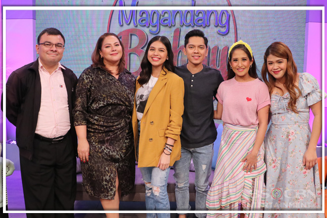 PHOTOS: Magandang Buhay with Carlo Aquino and Maine Mendoza