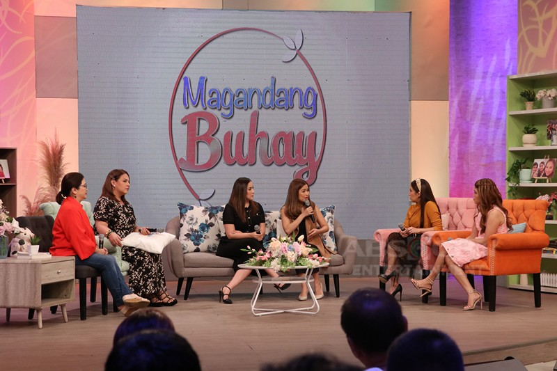 PHOTOS: Magandang Buhay with Ara Mina and Say Alonzo
