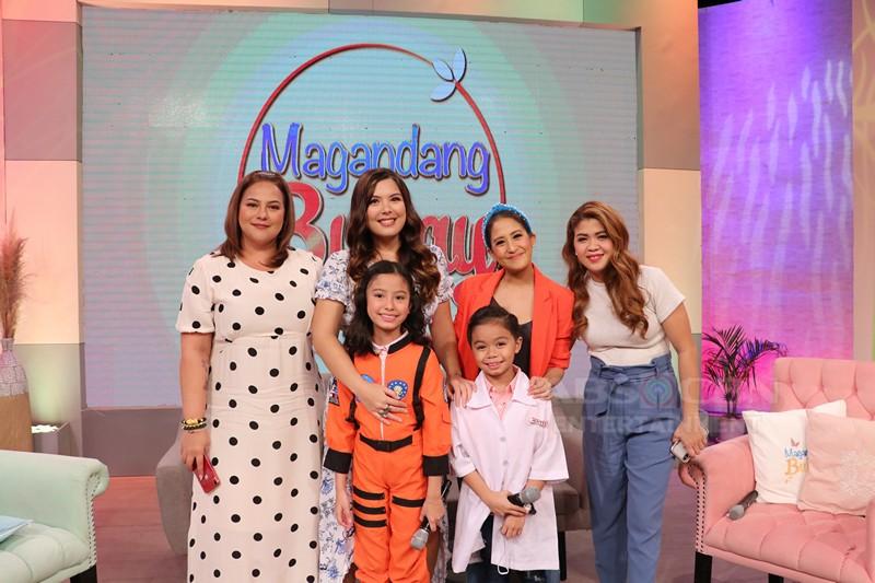 PHOTOS: Magandang Buhay with Enzo Pelojero and Jana Agoncillo
