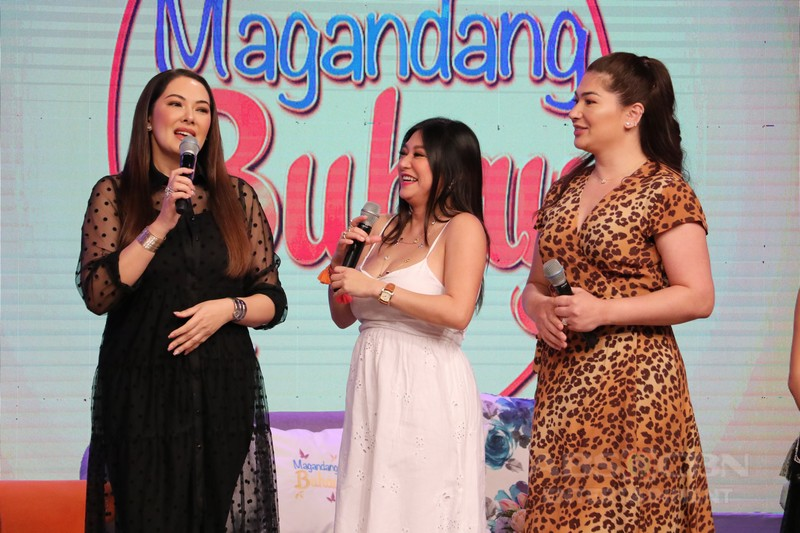 PHOTOS: Magandang Buhay with Rufa Mae Quinto, Jackie Forster and Ruffa Gutierrez