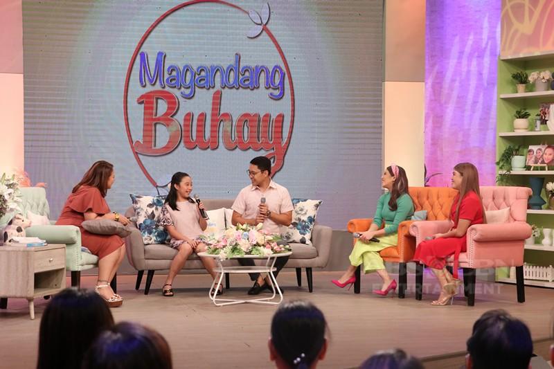 PHOTOS: Magandang Buhay with Ogie Diaz and Anthony Taberna