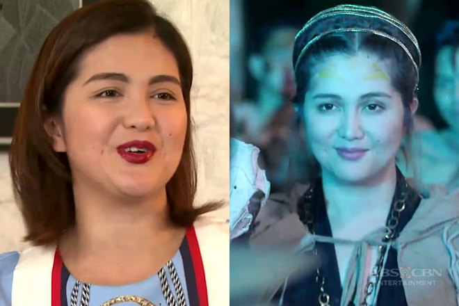 Dimples talks about her trending character in Bagani named