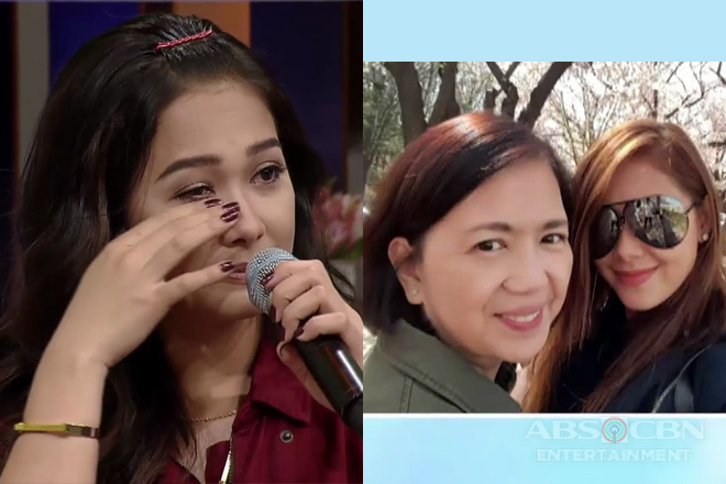 WATCH: Maja Salvador in tears as she gives message for her Nanay Nenette