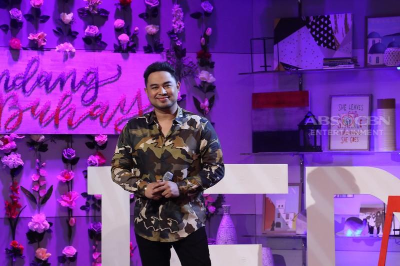 PHOTOS: Jed Madela celebrates his 15th Anniversary in showbiz on Magandang Buhay