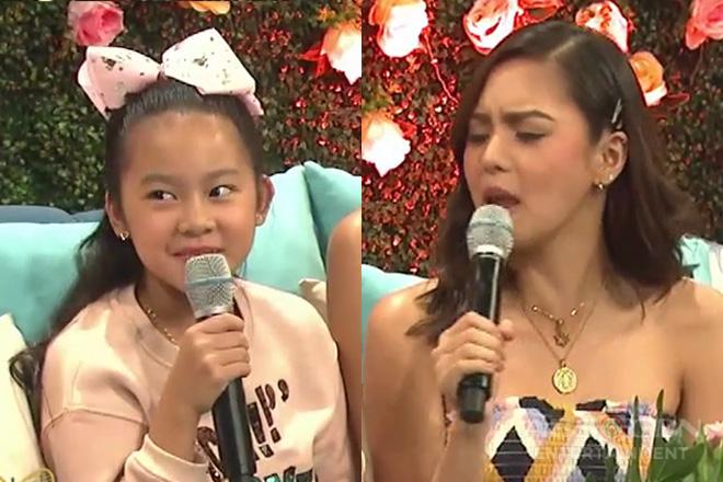Raine, may ibinuking tungkol sa kanyang tita Kim sa Magandang Buhay!