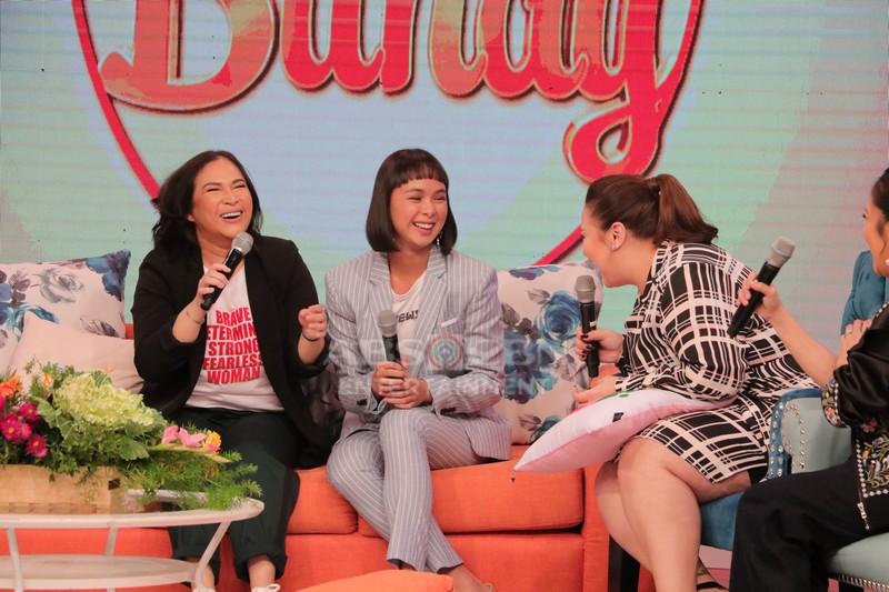 PHOTOS: Magandang Buhay with Eula Valdes & Janice de Belen