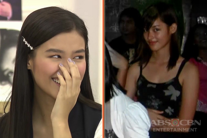 """Ang jejemon ko"": Liza Soberano's funny reaction when she saw her throwback photos!"