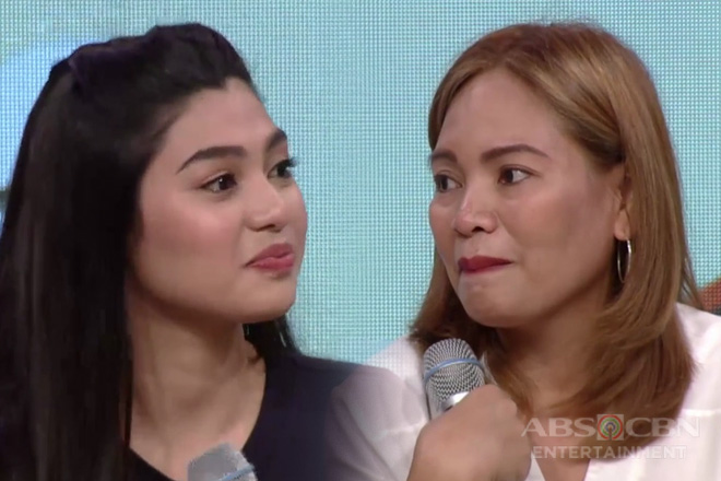 Magandang Buhay: Abi, di napigilang maiyak dahil sa kanyang momshie