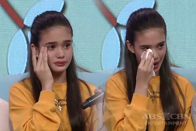 Criza gets emotional on Magandang Buhay