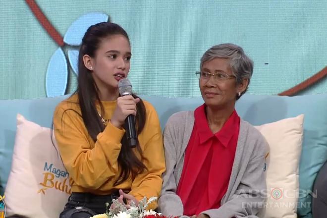 Magandang Buhay: Criza, 2 months pa lang ay si Lola Wilma na ang nag-aalaga sa kanya