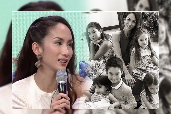 Ina Raymundo shares the struggles of raising kids with two cultures