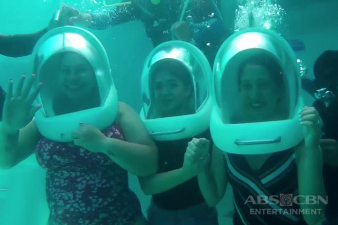 Magandang Buhay: Momshie Karla, Jolina & Melai share their experience underwater