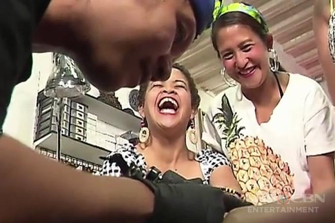Magandang Buhay: Momshie Melai, napasigaw habang nagpapa-tattoo!
